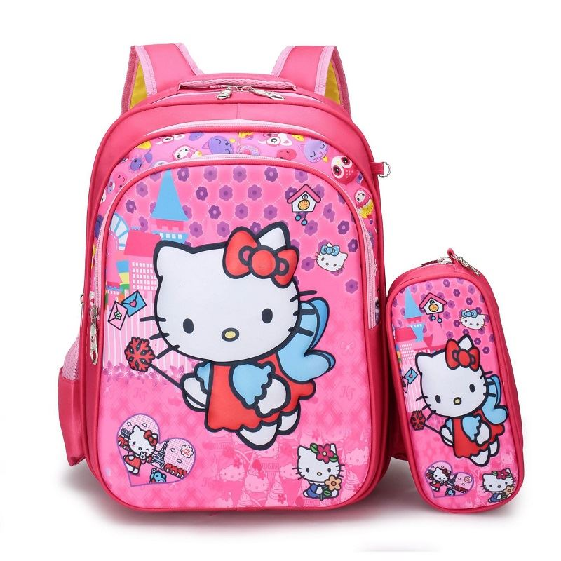 JT1119 (2IN1) IDR.145.000 MATERIAL NYLON SIZE L30XH40XW11CM WEIGHT 550GR COLOR HELLOKITTY
