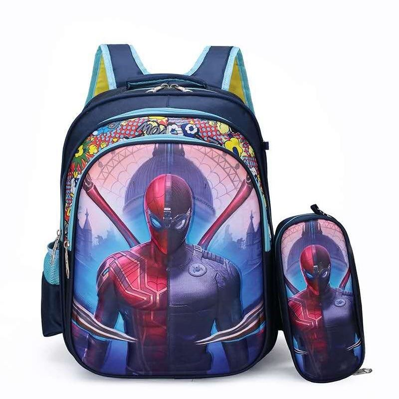 JT1119 (2IN1) IDR.145.000 MATERIAL NYLON SIZE L30XH40XW11CM WEIGHT 550GR COLOR SPIDERMAN