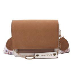 JT112-brown Tas Selempang Stylish Kekinian Import