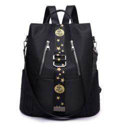 JT1122-black Tas Ransel Wanita Stylish Import Terbaru