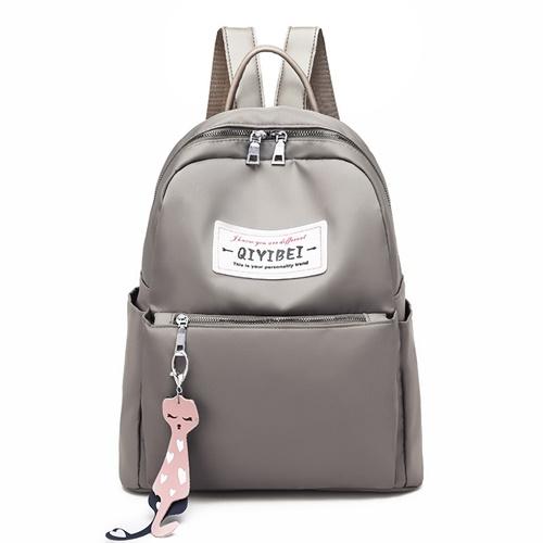 JT11242-khaki Tas Ransel Fashion Import Wanita