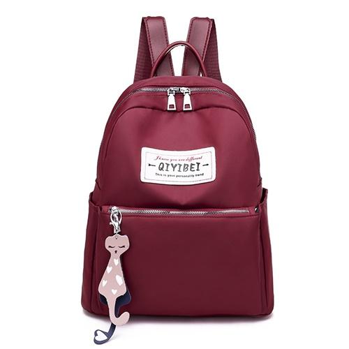 JT11242-red Tas Ransel Fashion Import Wanita