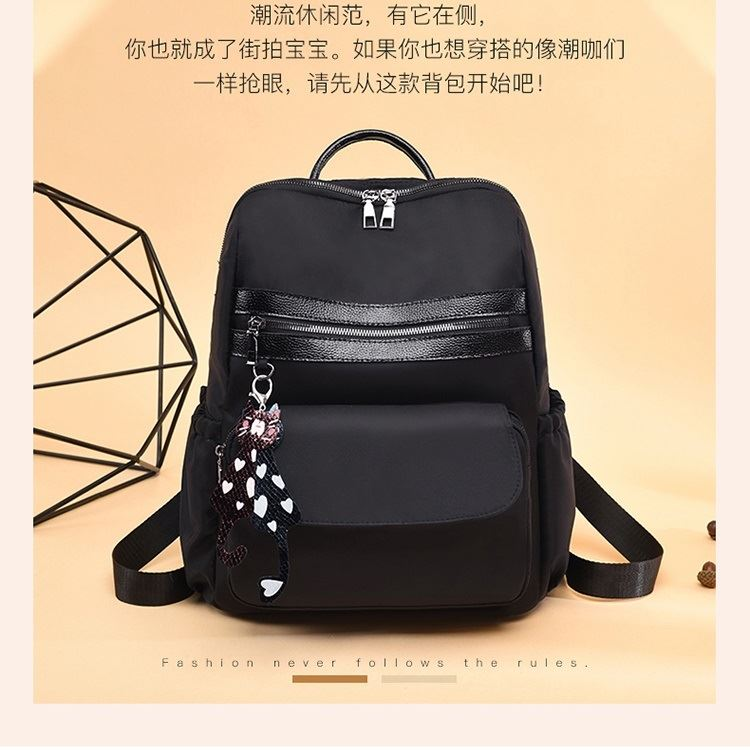 JT1129 IDR.155.000 MATERIAL NYLON SIZE L31XH35XW15CM WEIGHT 550GR COLOR BLACK