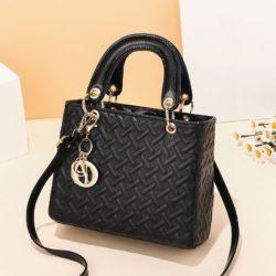 JT11361-black Tas Handbag Selempang Wanita Elegan Import Terbaru