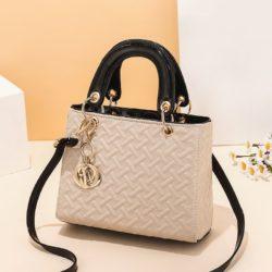JT11361-khaki Tas Handbag Selempang Wanita Elegan Import Terbaru