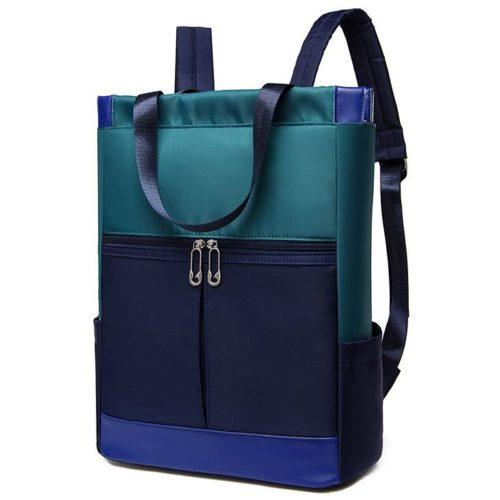 JT1173-blue Tas Ransel Fashion Cantik Modis Import