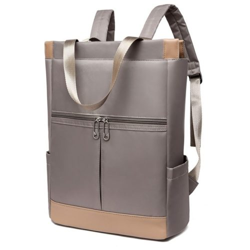 JT1173-gray Tas Ransel Fashion Cantik Modis Import