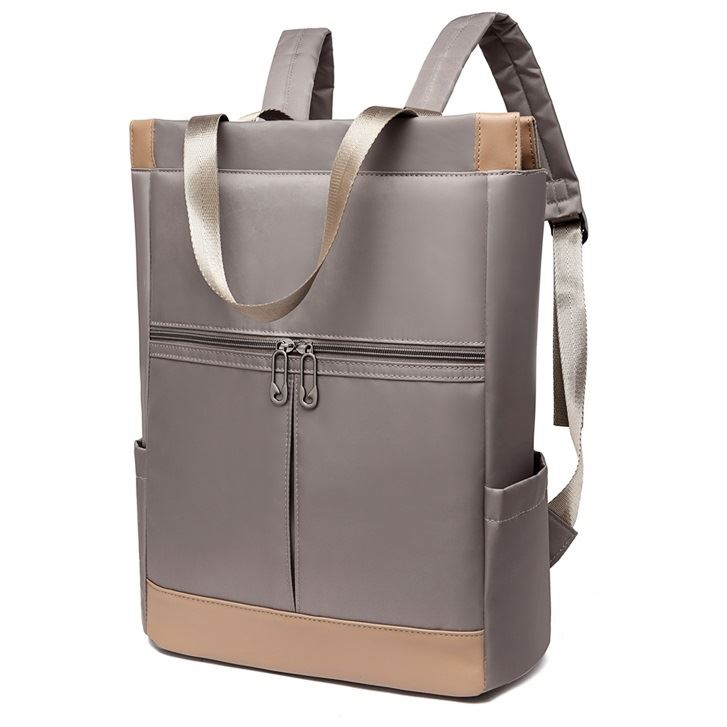 JT1173 IDR.153.000 MATERIAL OXFORD SIZE L30XH40XW18CM WEIGHT 500GR COLOR GRAY
