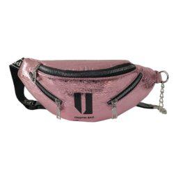 JT119-pink Tas Waistbag Wanita Lucu Kekinian Import
