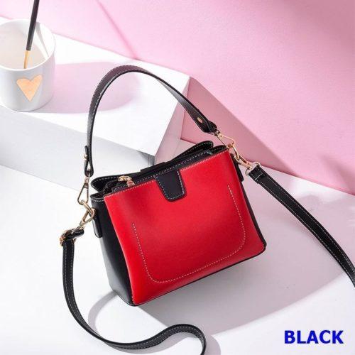 JT1202-black Tas Selempang Wanita Stylish Import Terbaru