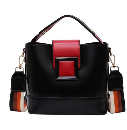 JT120421-black Tas Selempang Fashion Wanita Kekinian