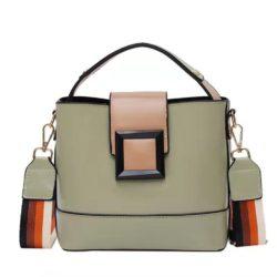 JT120421-green Tas Selempang Fashion Wanita Kekinian