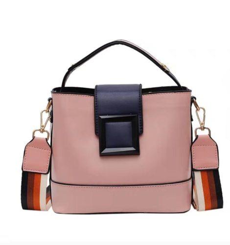 JT120421-pink Tas Selempang Fashion Wanita Kekinian