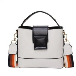 JT120421-white Tas Selempang Fashion Wanita Kekinian