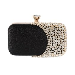 JT12102-black Tas Pesta Wanita Elegan Import (Ada Kotak