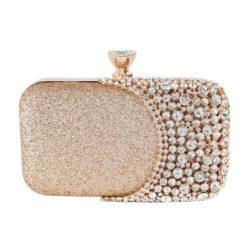 JT12102-gold Tas Pesta Wanita Elegan Import (Ada Kotak