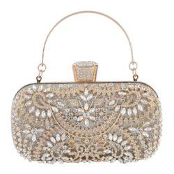 JT12103-silver Tas Pesta Import Elegan Wanita (Ada Kotak