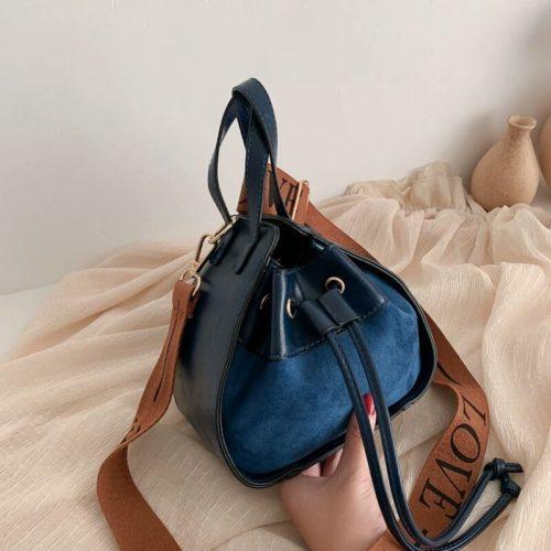 JT12145-blue Tas Pingo Selempang Wanita Cantik Elegan