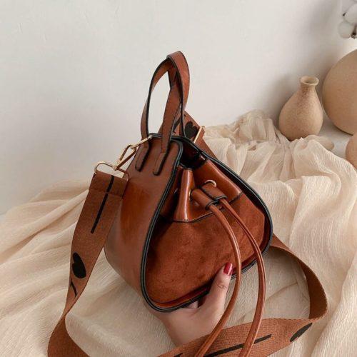 JT12145-brown Tas Pingo Selempang Wanita Cantik Elegan