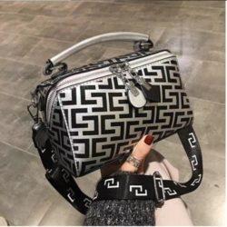 JT12148-silver Hand Bag Selempang Fashion Import Wanita