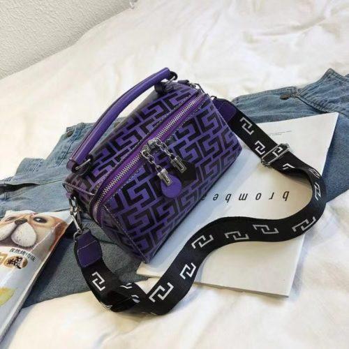 JT12148-purple Hand Bag Selempang Fashion Import Wanita