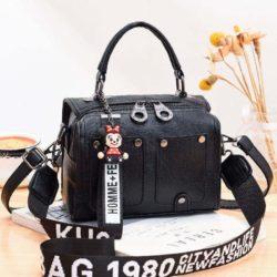 JT12305-black Tas Selempang Fashion Modis Wanita Cantik Import