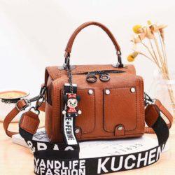 JT12305-brown Tas Selempang Fashion Modis Wanita Cantik Import