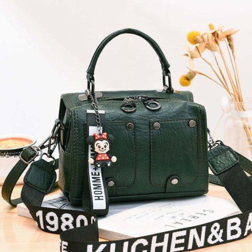 JT12305-green Tas Selempang Fashion Modis Wanita Cantik Import
