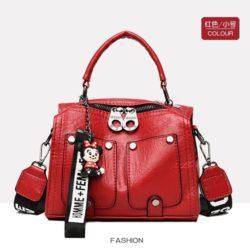 JT12305-red Tas Selempang Fashion Modis Wanita Cantik Import