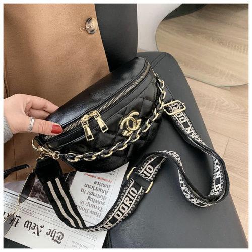 JT12343-cc Waist Bag Tas Pinggang Wanita Modis Terbaru