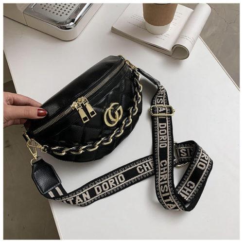 JT12343-cg Waist Bag Tas Pinggang Wanita Modis Terbaru