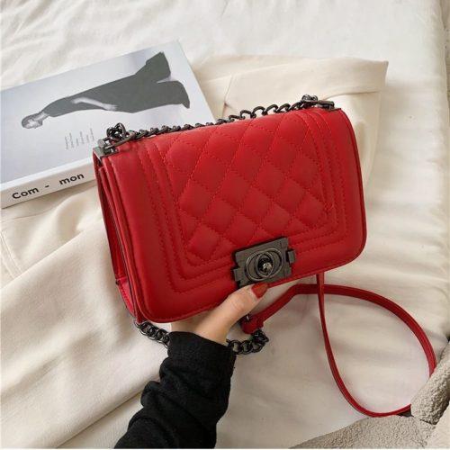 JT12391A-red Tas Clutch Bag Elegan Wanita Cantik Terbaru