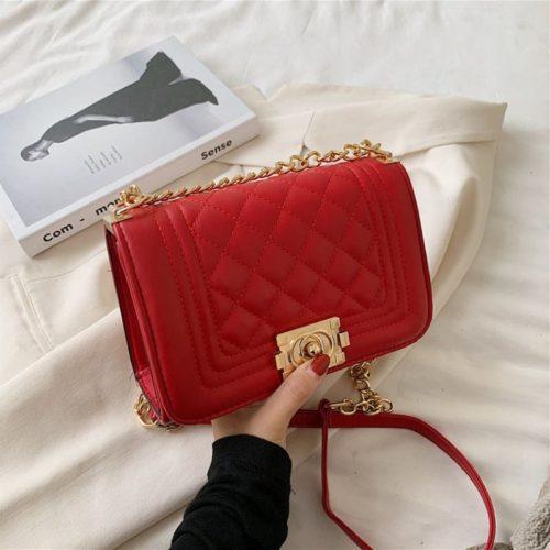 JT12391B-red Tas Clutch Bag Elegan Wanita Cantik Terbaru