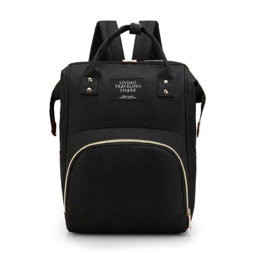 JT1251-black Tas Ransel Cantik Kekinian Import