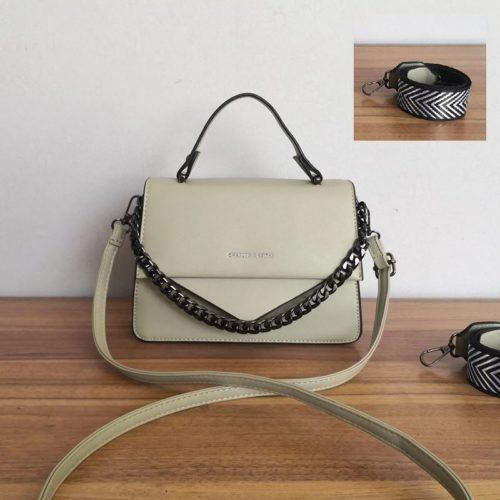 JT1254-green Tas Selempang Handbag Import Wanita Cantik