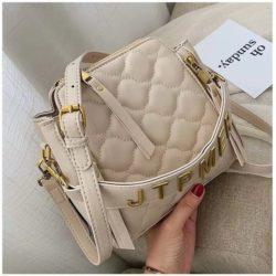 JT12549-beige Tas Selempang Wanita Stylish Import Terbaru
