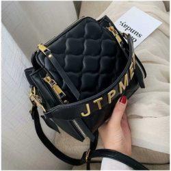 JT12549-black Tas Selempang Wanita Stylish Import Terbaru
