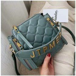 JT12549-blue Tas Selempang Wanita Stylish Import Terbaru