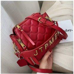 JT12549-red Tas Selempang Wanita Stylish Import Terbaru