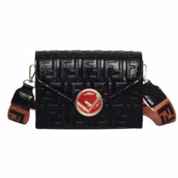 JT125502-black Tas Selempang Fashion Import Terbaru