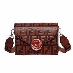 JT125502-brown Tas Selempang Fashion Import Terbaru