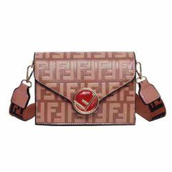JT125502-pink Tas Selempang Fashion Import Terbaru