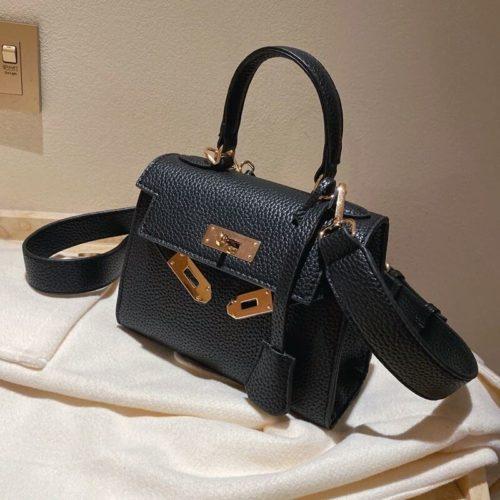 JT125507-black Tas Fashion Import Kekinian Wanita Cantik
