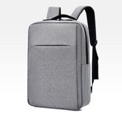 JT12588-gray Tas Ransel Laptop Unisex Colokan USB Import