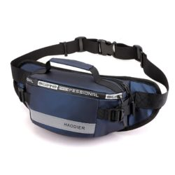 JT12637-blue Sling / Waist Bag Pria Modis Terbaru Import