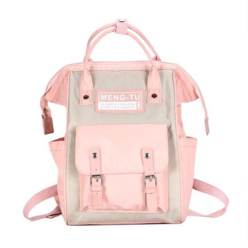 JT12640-pink Tas Ransel Stylish New Normal Style Wanita Cantik