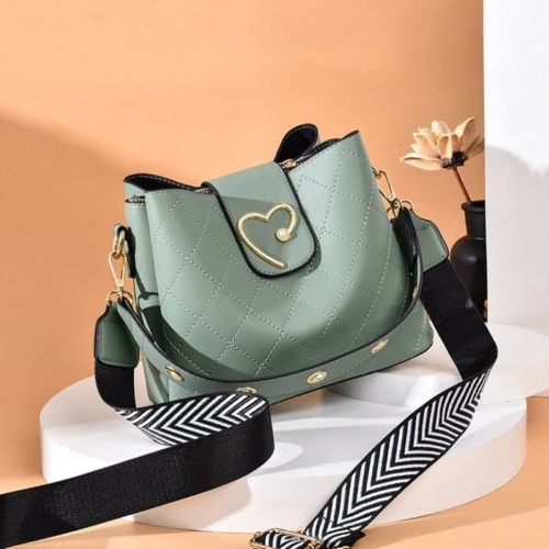 JT12902-green Tas Selempang Fashion Elegan Wanita Cantik Terbaru