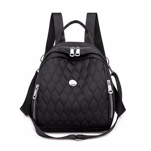 JT134347-black Tas Ransel Wanita Cantik Import Terbaru