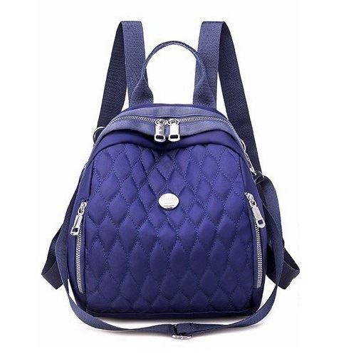 JT134347-blue Tas Ransel Wanita Cantik Import Terbaru