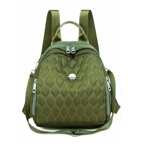 JT134347-green Tas Ransel Wanita Cantik Import Terbaru
